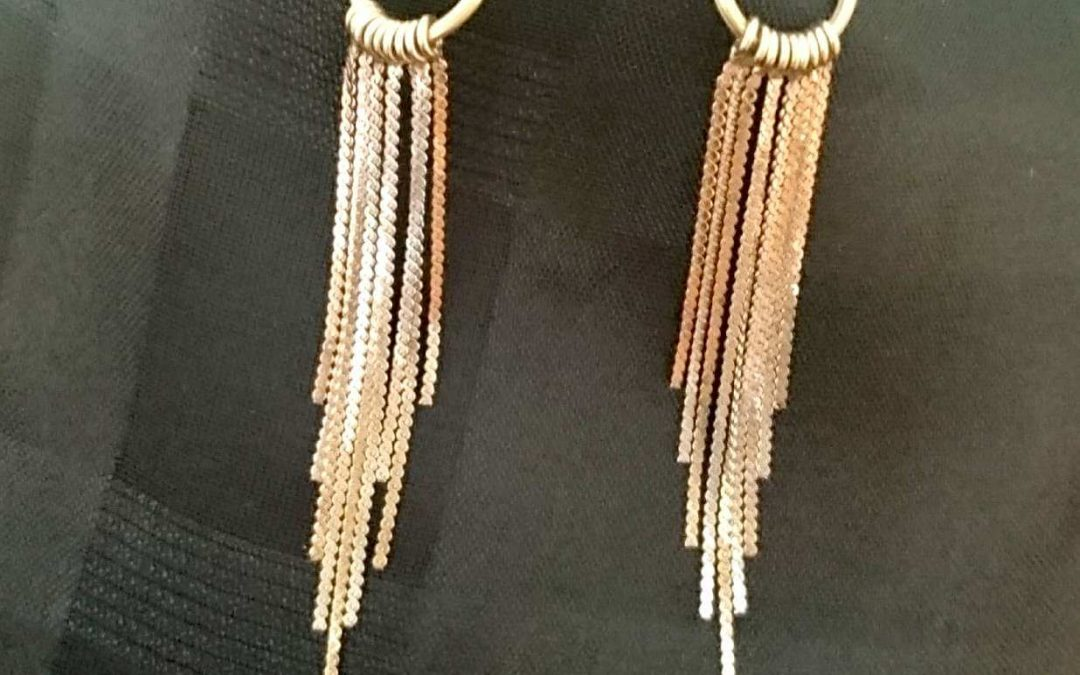 The earrings of courage